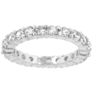 Sparkling Eternity Band 2.5mm Band JGI