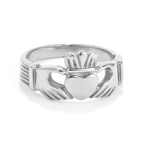 Rings $22.90 Stainless Steel Irish Claddagh Ring Claddagh Er Heart Steel