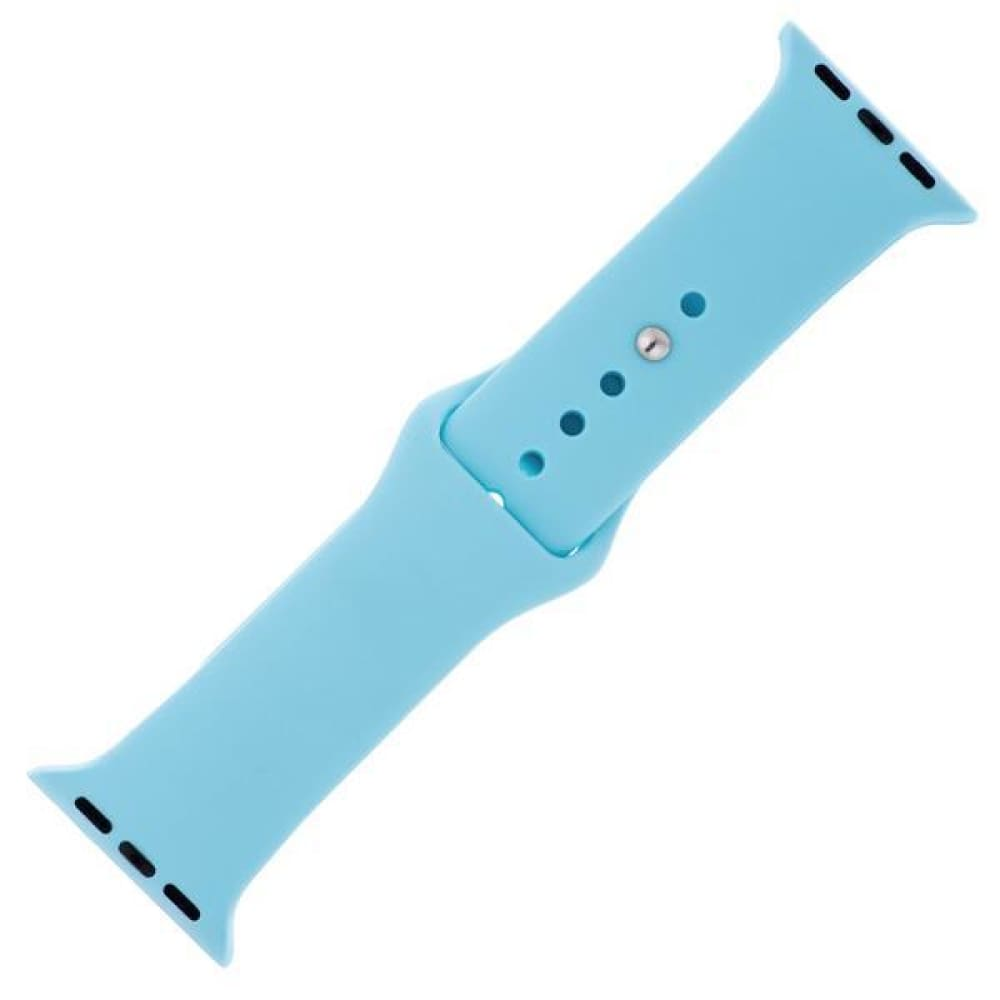 Watches $27.00 Baby Blue Silicone Sports Watch Band 38mm 42mm for Apple Watch 1 2 3 4 25-50 blue size-38mm vet watches