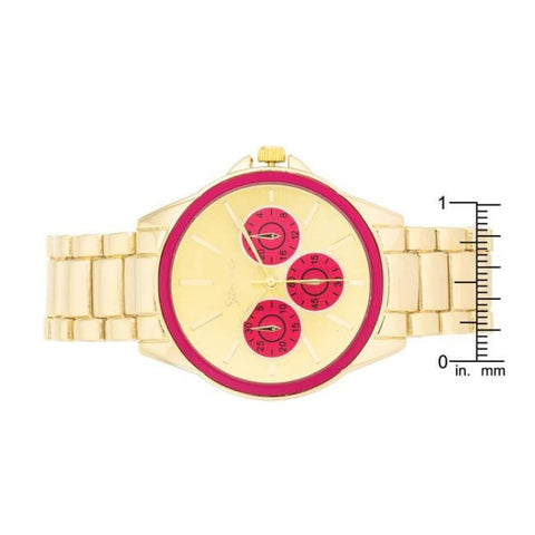 Image of Watches $33.00 Chrono Gold Metal Watch