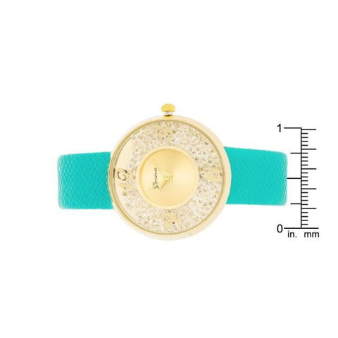Image of Watches $27.00 Gold Watch With Leather Strap