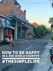 how to be happy in a 3rd world country #thesimplelife