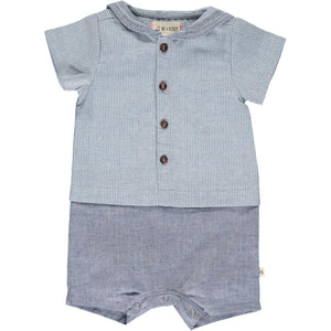 Me & Henry Sailor Shortie Romper
