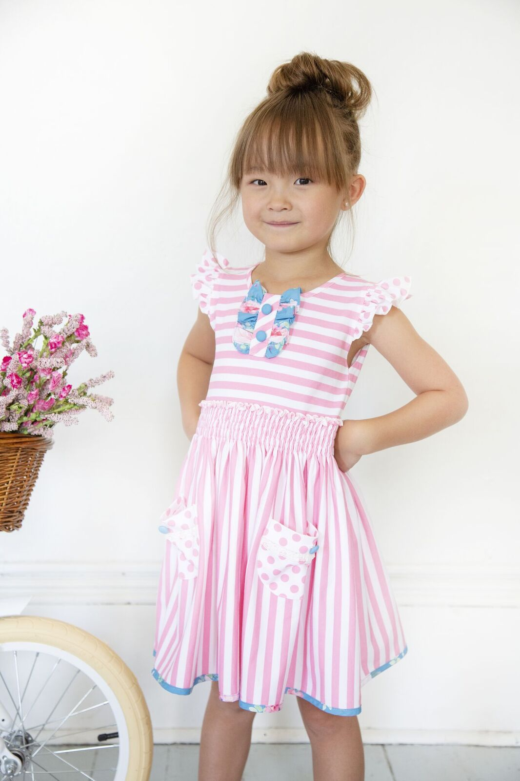 Be Girl Clothing Ellen Stripe Dress
