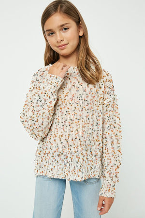 Hayden Confetti Textured Sweater