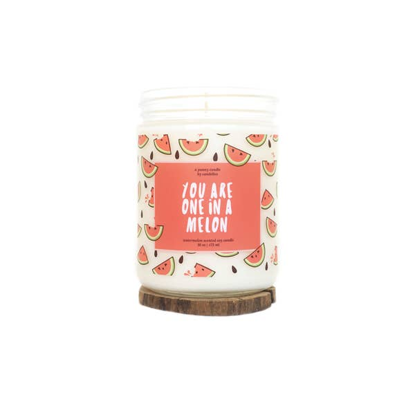 Candelles Punny One in A Melon Soy Candle