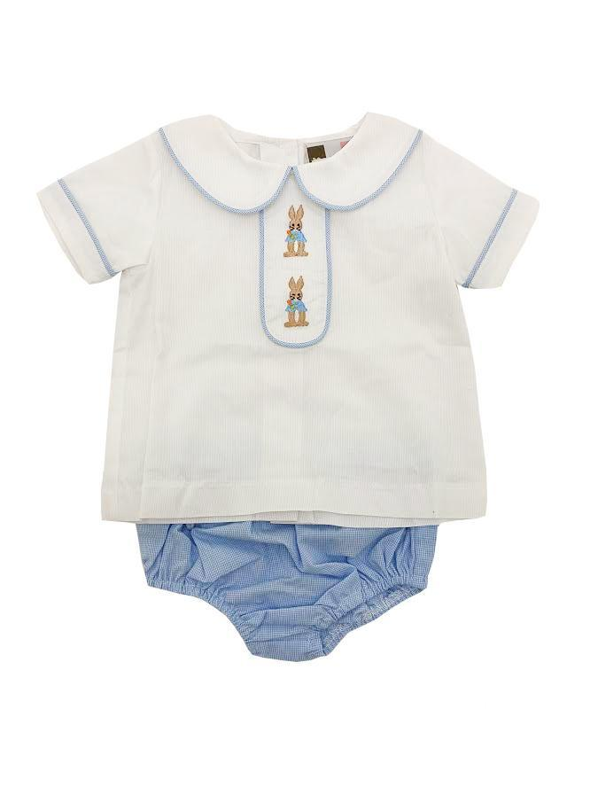 Banana Split Peter Rabbit Boys Bloomer Set