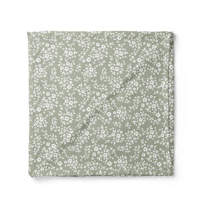 Mini Scout Whimsy Floral Swaddle