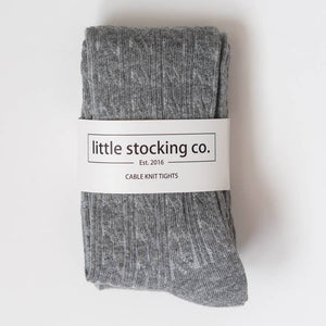 Little Stockings Cable Knit Tights