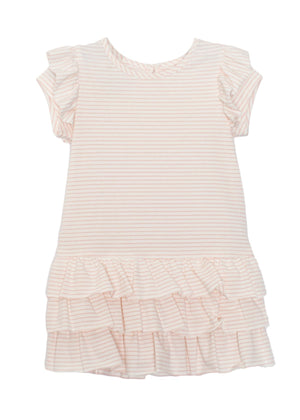 Mabel & Honey Soft Pink Stripe Dress