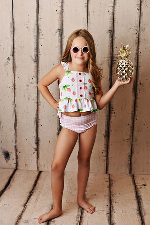 Swoon Baby Strawberry 2 Piece Swimsuit