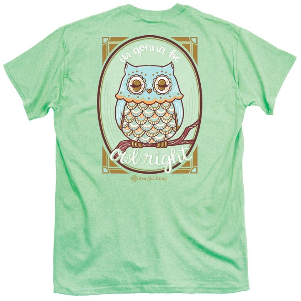 It's A Girl Thing Owl Right Tee