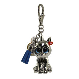 Ty painted Beanie Boo Key Chain