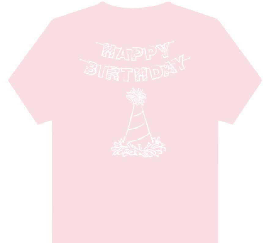Mustard & Ketchup Kids Girl Happy Birthday Tee
