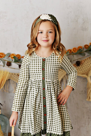 Swoon Baby Charlotte Willow Gingham Dress