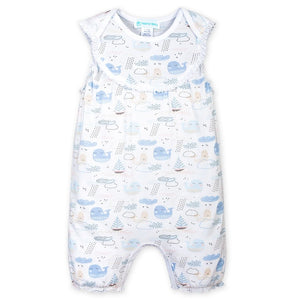 Feather Baby Ships Romper