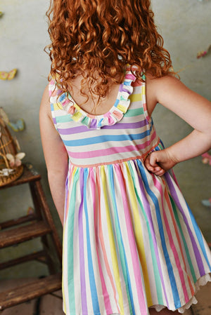 Serendipity Over The Rainbow Dress & Shorties