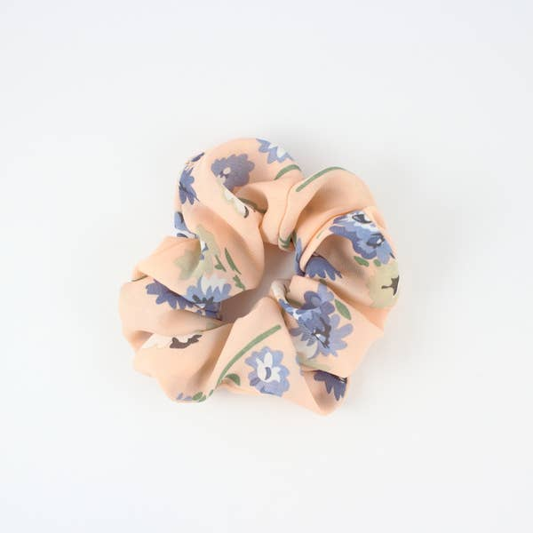 Britts Bows Floral Scrunchie