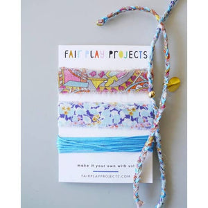 Fair Play Projects Braided Bauble Bracelet Kit