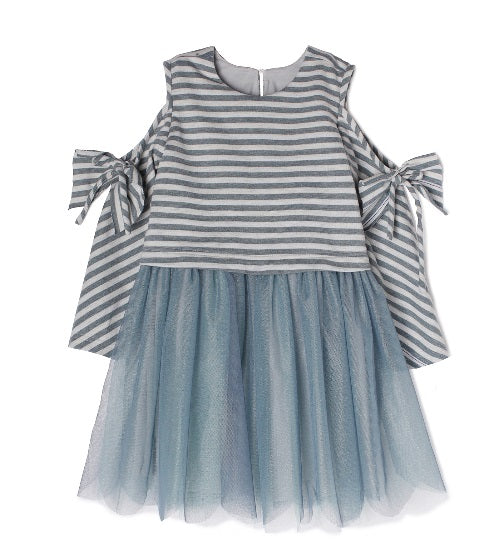 Isobella & Chloe Blue Everly Dress