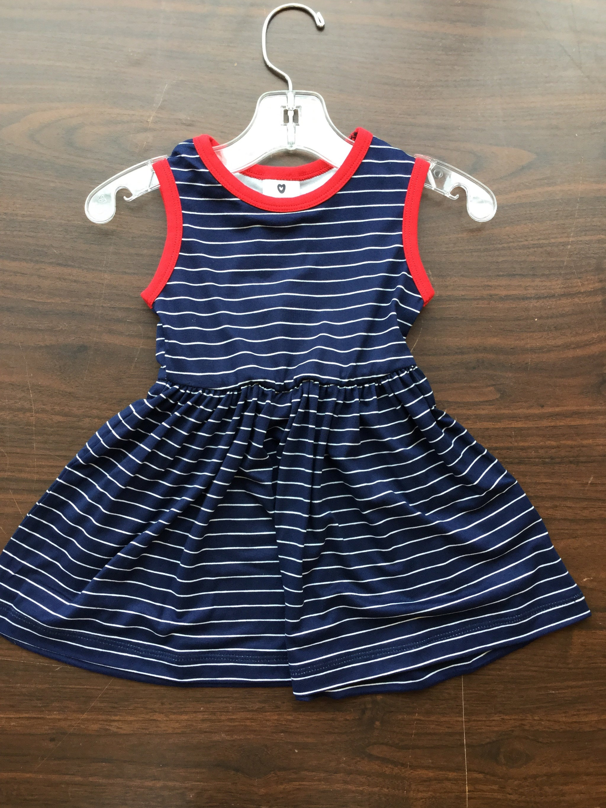 Korango Navy Stripe Dress