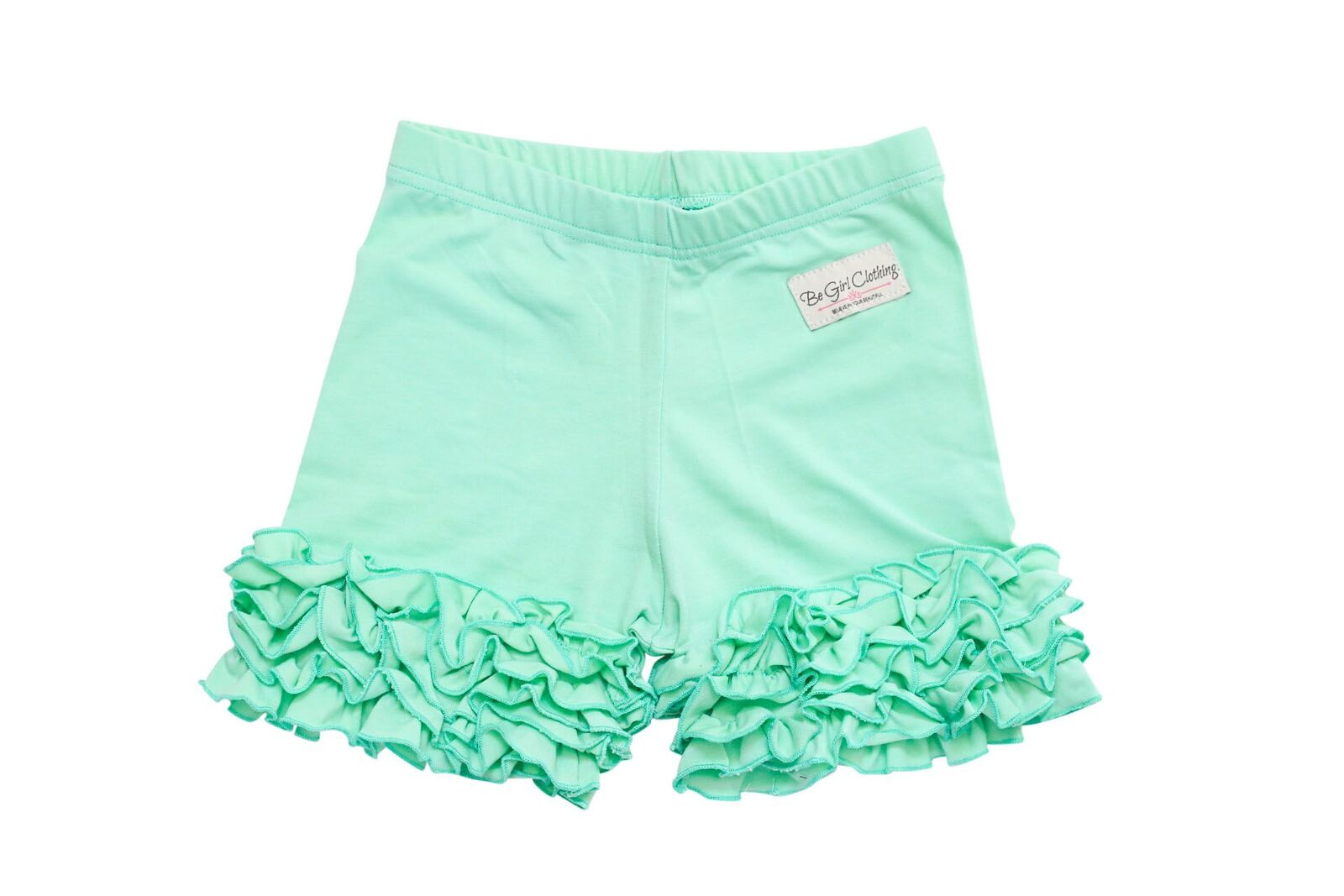 Be Girl Clothing Solid Ruffle Shorties