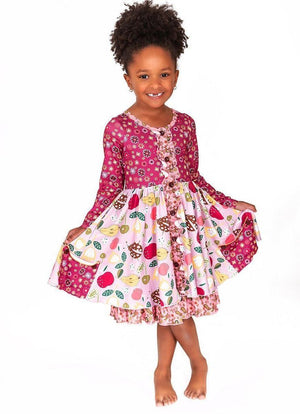 Charlies Project Floral Fruit Hugs Dress