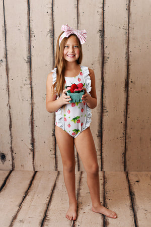 Swoon Baby Strawberry One Piece Swimsuit