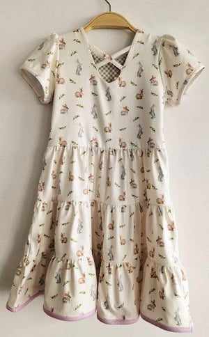 Charlies Project Sweet Vintage Bunnies Dress