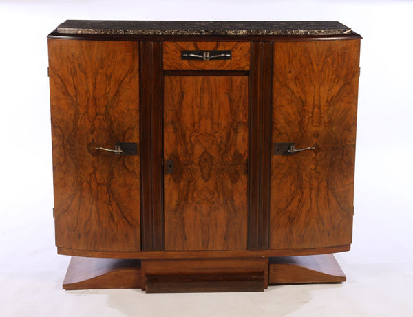 Small French Art Deco Buffet / Sideboard - Art Deco Antiques  - 1