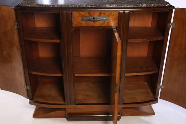 Small French Art Deco Buffet / Sideboard - Art Deco Antiques  - 5