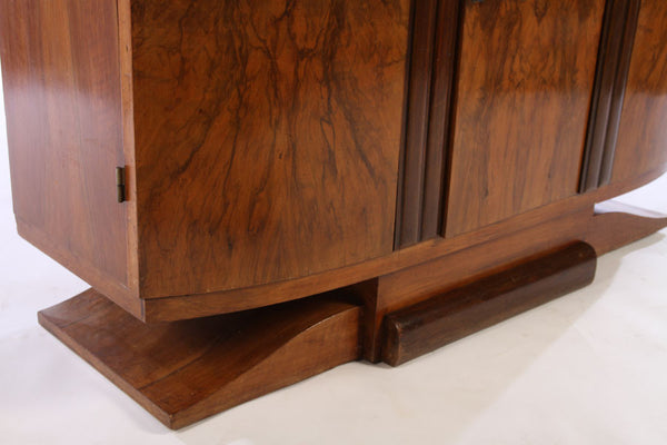 Small French Art Deco Buffet / Sideboard - Art Deco Antiques  - 6