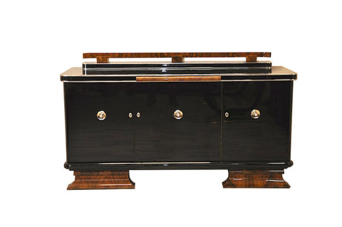 Sophisticated Art Deco Sideboard - Art Deco Antiques  - 1