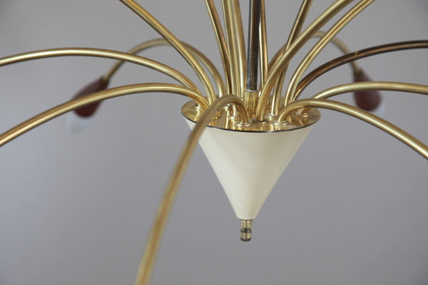 Unique 1950's Mid-Century Modernist Sputnik - Art Deco Antiques  - 3