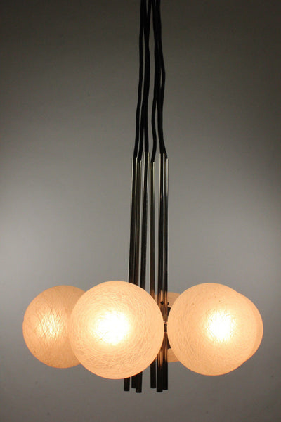 Mid-Century Modernist Sputnik Pendant Light - Art Deco Antiques  - 7