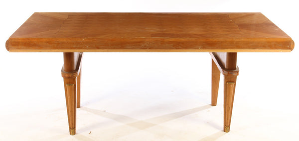 Luxe Dining Table In The Manner Of Jules Leleu - Art Deco Antiques  - 2
