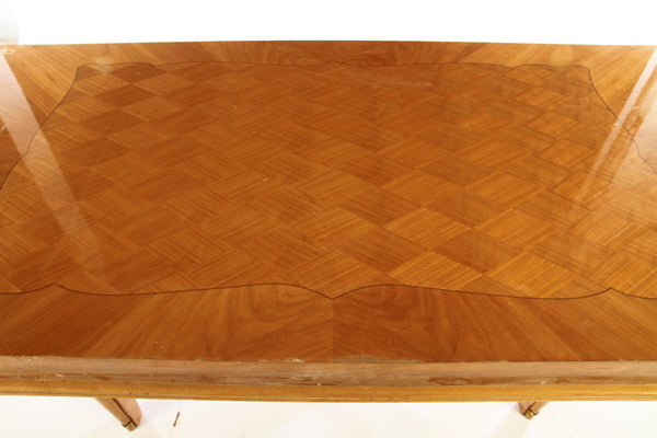 Luxe Dining Table In The Manner Of Jules Leleu - Art Deco Antiques  - 3