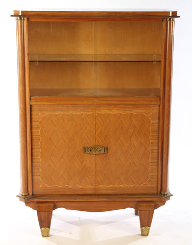 Fantastic 1950's Art Deco Vitrine In The Manner Of Jules Leleu - Art Deco Antiques  - 1