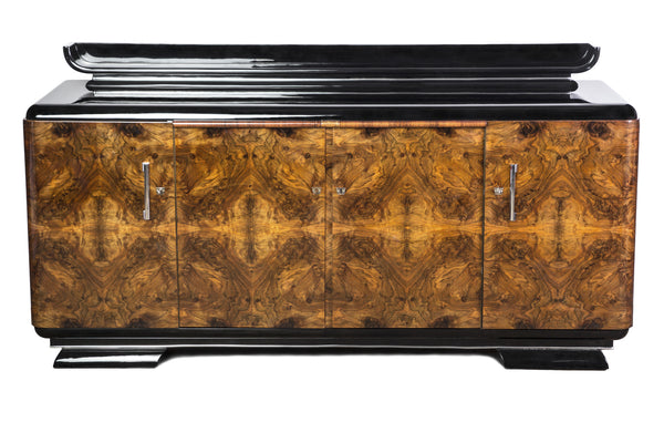 Stunning Art Deco Sideboard - Art Deco Antiques  - 1