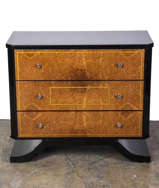 Exceptional Amboina Bauhaus Commode - Art Deco Antiques  - 1