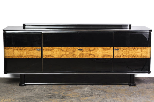 colossal french art deco sideboard le deco style. Black Bedroom Furniture Sets. Home Design Ideas