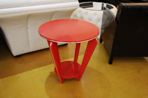 Stunning Art Deco Style Side Table - Art Deco Antiques  - 2