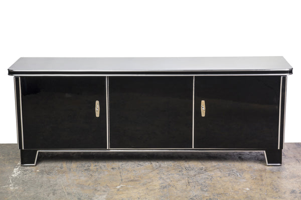 Magnificent Art Deco Low Board / Sideboard - Art Deco Antiques  - 1