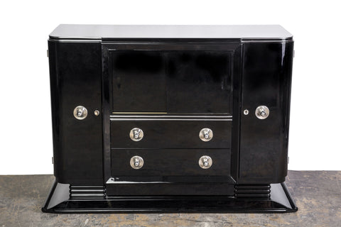 Beautiful Art Deco Credenza - Art Deco Antiques  - 1