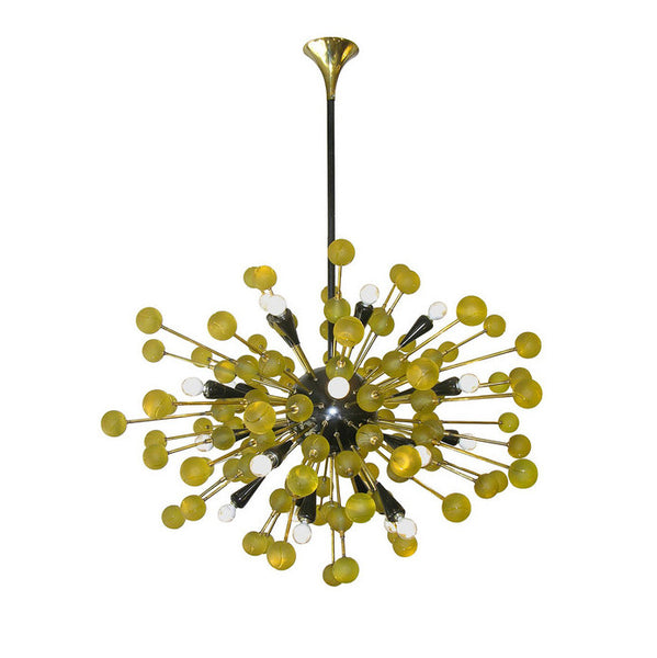 Captivating Italian Sputnik Chandelier