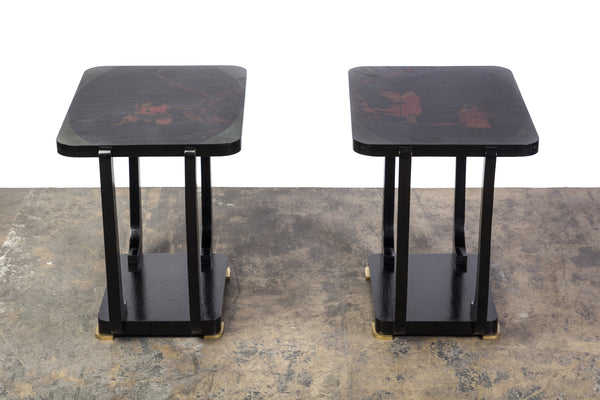 Gorgeous Pair Art Deco Side Table - Art Deco Antiques  - 1
