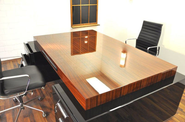 Exceptional Art Deco Partnerdesk By Bauhaus - Art Deco Antiques  - 6