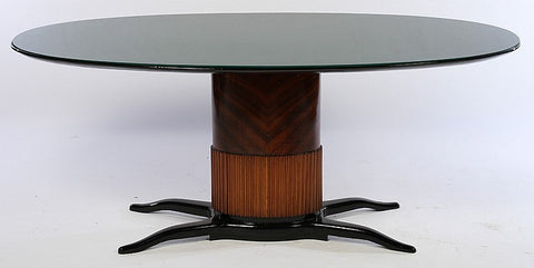 Magnificent Dining Table In The Manner Of Osvaldo Borsani - Art Deco Antiques  - 1