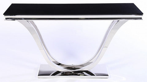 Beautiful Art Deco Style Streamlined Console Table - Art Deco Antiques  - 1