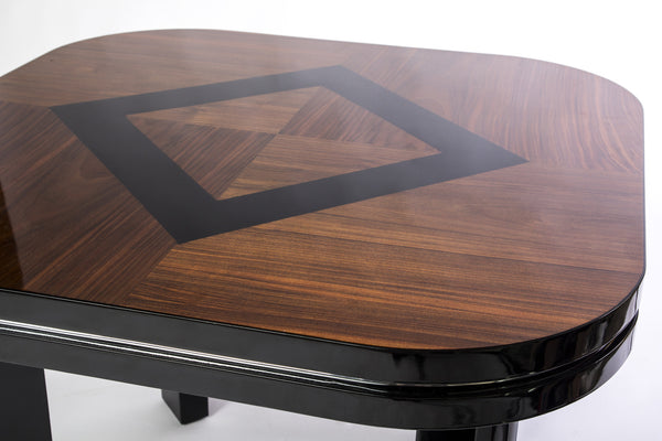 Wonderful Art Deco Game Table - Art Deco Antiques  - 3